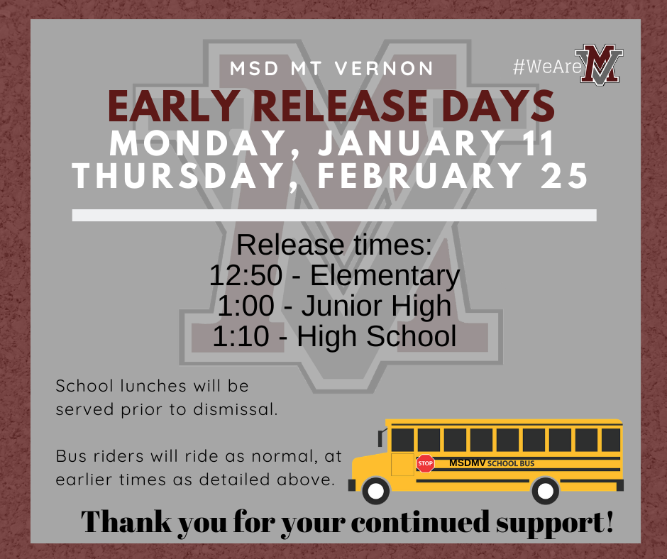 District-Early-Release-Day-Information